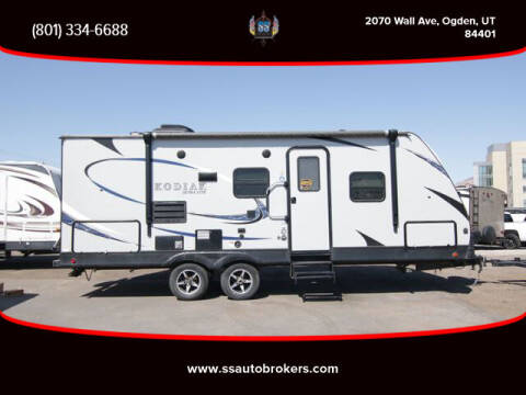 2018 Keystone KODIAK ULTRA-LITE for sale at S S Auto Brokers in Ogden UT