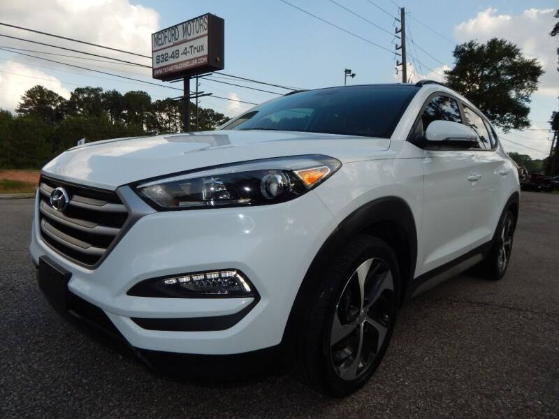 2018 Hyundai Tucson for sale at Medford Motors Inc. in Magnolia TX