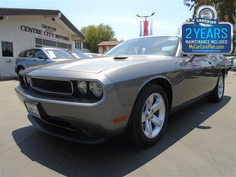 2012 Dodge Challenger for sale at Centre City Motors in Escondido CA