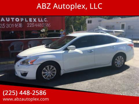 2015 Nissan Altima for sale at ABZ Autoplex, LLC in Baton Rouge LA