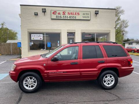 2004 Jeep Grand Cherokee for sale at C & S SALES in Belton MO