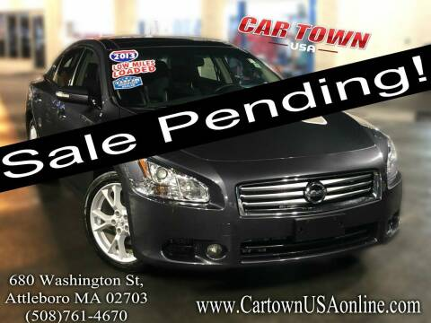 2013 Nissan Maxima for sale at Car Town USA in Attleboro MA