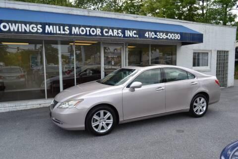 2009 Lexus ES 350 for sale at Owings Mills Motor Cars in Owings Mills MD