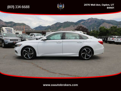 2019 Honda Accord for sale at S S Auto Brokers in Ogden UT