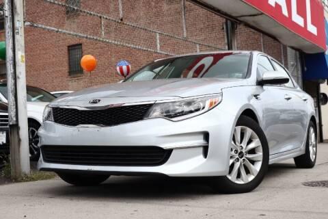 2018 Kia Optima for sale at HILLSIDE AUTO MALL INC in Jamaica NY