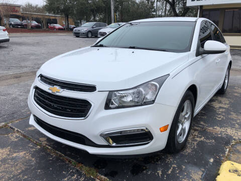 2016 Chevrolet Cruze Limited for sale at Beach Cars in Fort Walton Beach FL