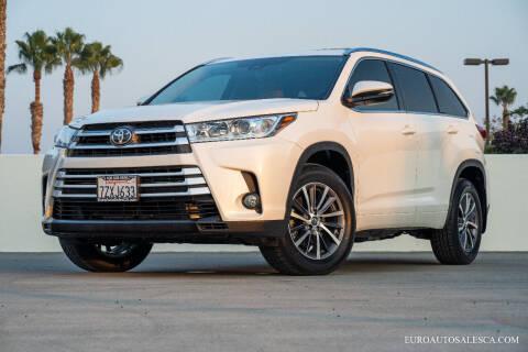 2017 Toyota Highlander for sale at Euro Auto Sales in Santa Clara CA