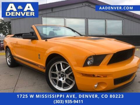 2009 Ford Shelby GT500 for sale at A & A AUTO LLC in Denver CO