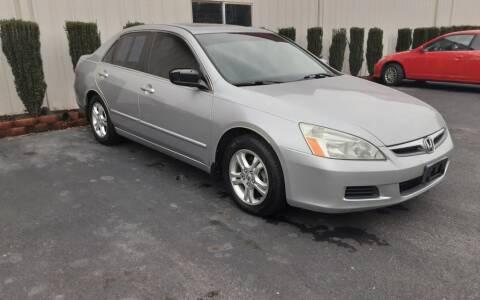 2006 Honda Accord for sale at Mathews Used Cars, Inc. in Crawford GA