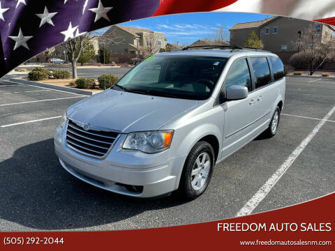 2010 Chrysler Town and Country for sale at Freedom Auto Sales in Albuquerque NM
