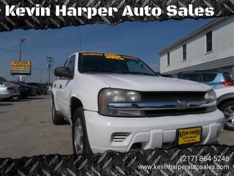 2007 Chevrolet TrailBlazer for sale at Kevin Harper Auto Sales in Mount Zion IL