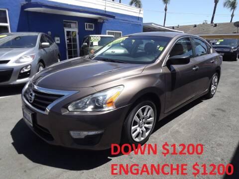 2014 Nissan Altima for sale at PACIFICO AUTO SALES in Santa Ana CA