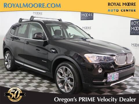 2016 BMW X3 for sale at Royal Moore Custom Finance in Hillsboro OR