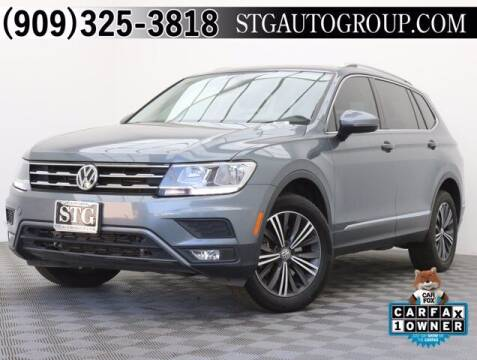 2018 Volkswagen Tiguan for sale at STG Auto Group in Montclair CA