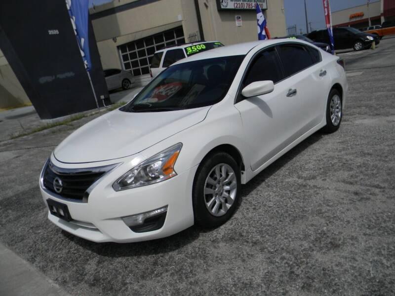 2015 Nissan Altima for sale at Meridian Auto Sales in San Antonio TX