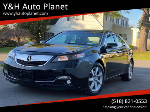 2012 Acura TL for sale at Y&H Auto Planet in West Sand Lake NY