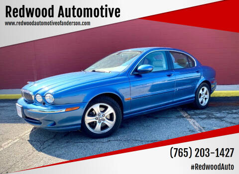 2002 Jaguar X-Type for sale at Redwood Automotive in Anderson IN