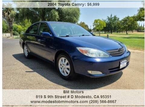 2004 Toyota Camry for sale at BM Motors in Modesto CA