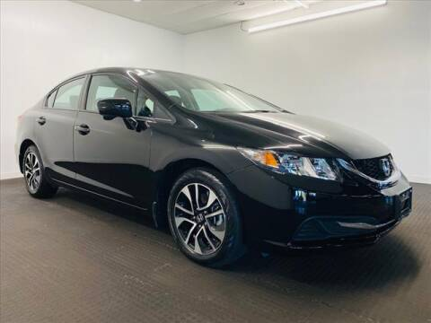 2014 Honda Civic for sale at Champagne Motor Car Company in Willimantic CT