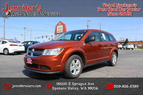2014 Dodge Journey for sale at Jennifer's Auto Sales in Spokane Valley WA