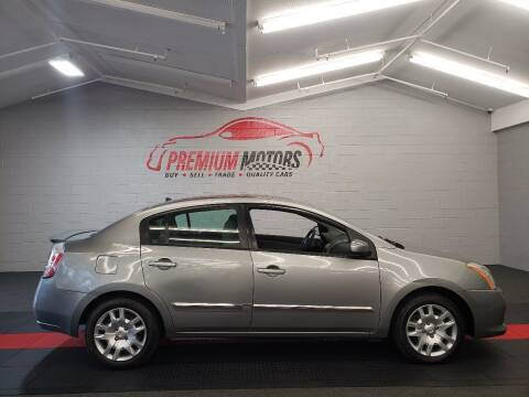 2011 Nissan Sentra for sale at Premium Motors in Villa Park IL