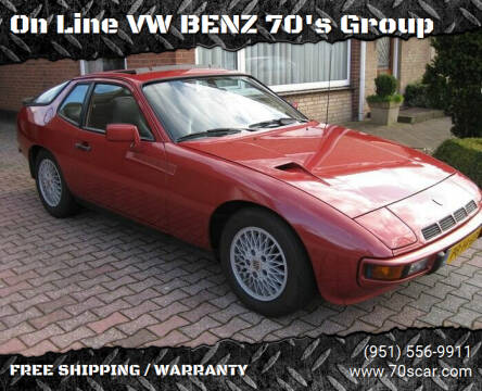 1982 Porsche 924 for sale at On Line VW BENZ 70's Group in Warehouse CA