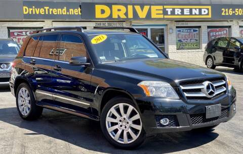 2012 Mercedes-Benz GLK for sale at DRIVE TREND in Cleveland OH