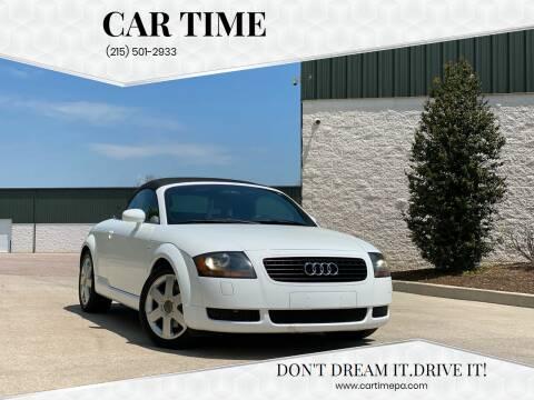 2002 Audi TT for sale at Car Time in Philadelphia PA