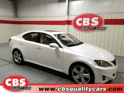 2011 Lexus IS 350 for sale at CBS Quality Cars in Durham NC