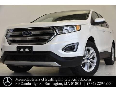 2017 Ford Edge for sale at Mercedes Benz of Burlington in Burlington MA