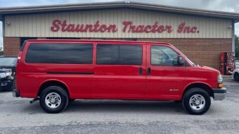 2005 Chevrolet Express Passenger for sale at STAUNTON TRACTOR INC in Staunton VA