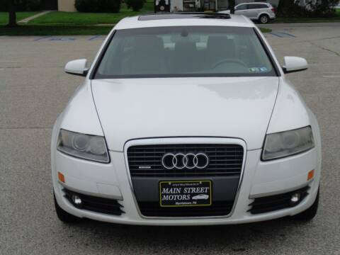 2007 Audi A6 for sale at MAIN STREET MOTORS in Norristown PA