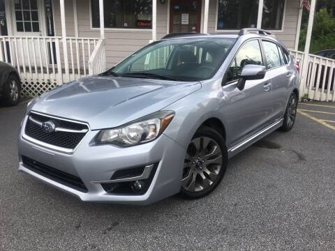 2016 Subaru Impreza for sale at Georgia Car Shop in Marietta GA
