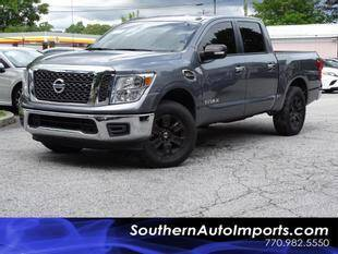 2017 Nissan Titan for sale at Used Imports Auto - Southern Auto Imports in Stone Mountain GA