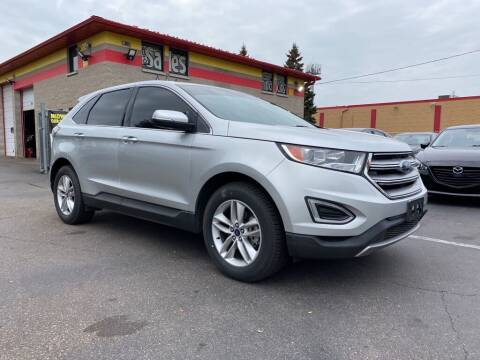 2015 Ford Edge for sale at MIDWEST CAR SEARCH in Fridley MN