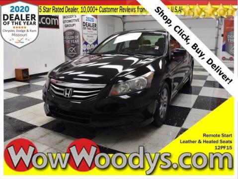 2012 Honda Accord for sale at WOODY'S AUTOMOTIVE GROUP in Chillicothe MO