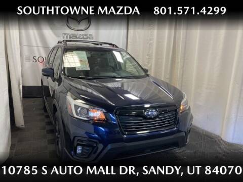 2020 Subaru Forester for sale at Southtowne Mazda of Sandy in Sandy UT
