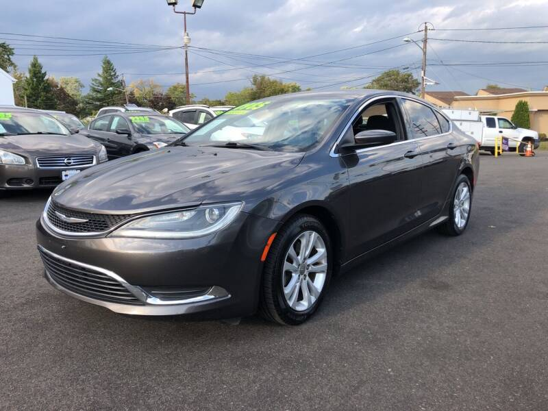 2015 Chrysler 200 for sale at Majestic Automotive Group in Cinnaminson NJ
