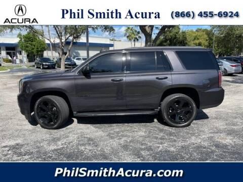 2018 GMC Yukon for sale at PHIL SMITH AUTOMOTIVE GROUP - Phil Smith Acura in Pompano Beach FL