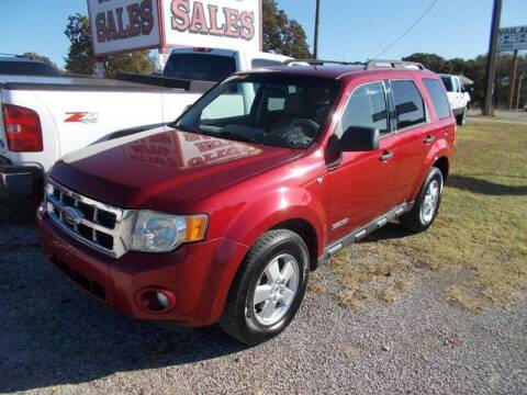 2008 Ford Escape for sale at OTTO'S AUTO SALES in Gainesville TX