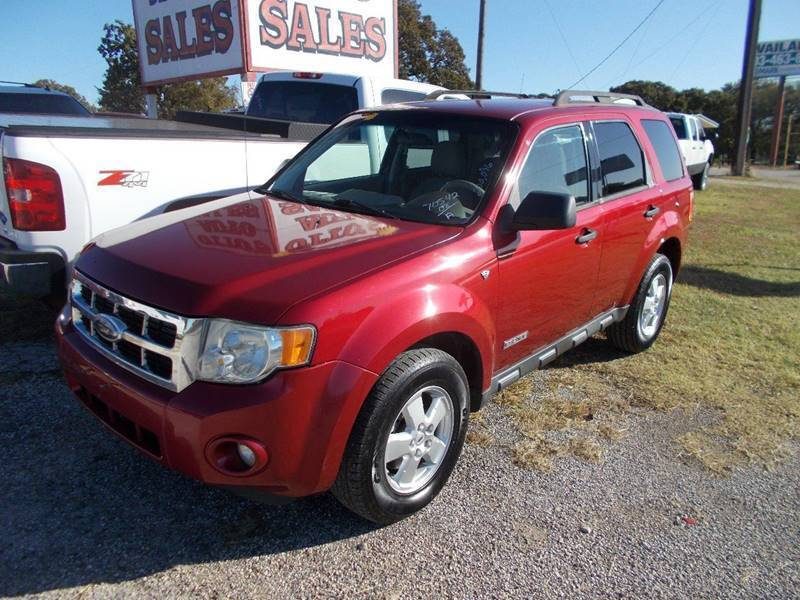 2008 Ford Escape for sale at OTTO'S AUTO SALES in Gainesville TX