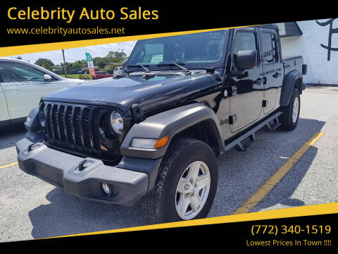 2020 Jeep Gladiator for sale at Celebrity Auto Sales in Fort Pierce FL