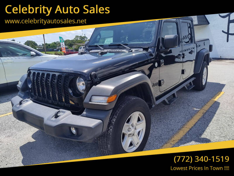 2020 Jeep Gladiator for sale at Celebrity Auto Sales in Port Saint Lucie FL