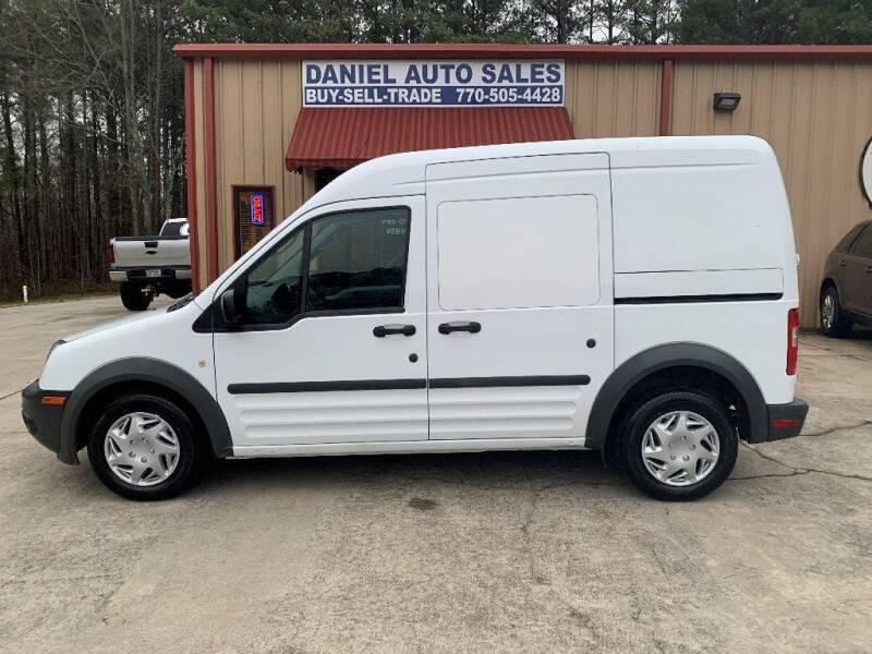 2013 Ford Transit Connect for sale at Daniel Used Auto Sales in Dallas GA