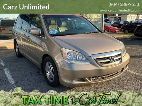 2006 Honda Odyssey for sale at Carz Unlimited in Richmond VA