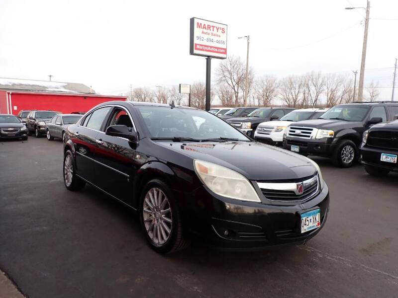 2007 Saturn Aura for sale at Marty's Auto Sales in Savage MN