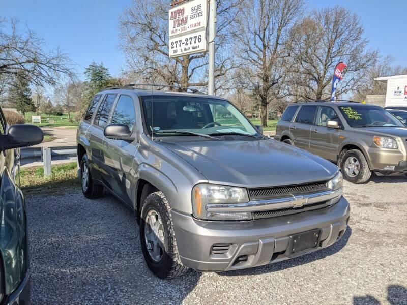 2005 Chevrolet TrailBlazer for sale at AUTO PROS SALES AND SERVICE in Belleville IL