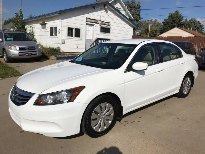 2012 Honda Accord for sale at Motor Solution in Sioux Falls SD