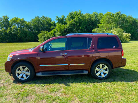 2011 Nissan Armada for sale at East Coast Auto Sales llc in Virginia Beach VA