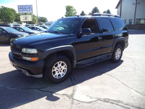 2003 Chevrolet Tahoe for sale at Budget Motors in Sioux City IA